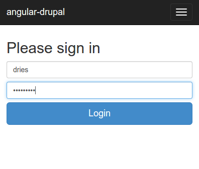 Headless Drupal With Angular Js And Bootstrap Hello World Tyler